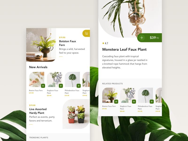 Plant Ecommerce App