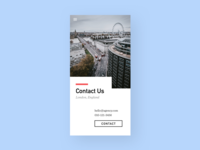 Daily UI #028 - Contact
