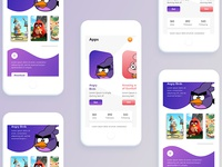 Character Game App Design