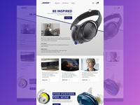 Bose Site Redesign