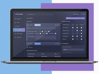 Dashboard Design (Web-Responsive)