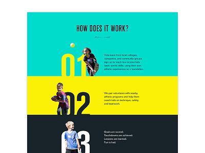 Coaching Process minimal progress action sports steps process ui web design