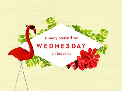 Vermilion Wednesdays