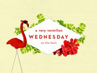 Vermilion Wednesdays