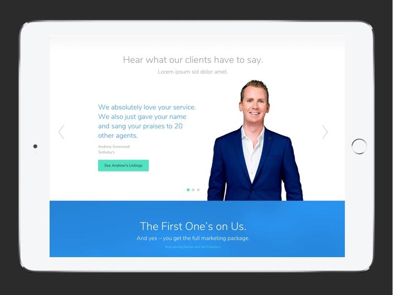Walkthrough Testimonial quotes branding ui ux web design testimonial