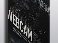 Typographic Poster: Webcam Connotative Poster 2015