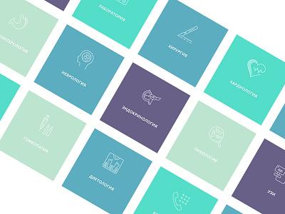 Design of the site for IQ clinic web design site design design