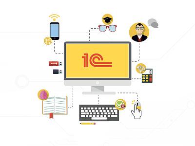 Design of the online store for 1С SOFTIKS web design site design design