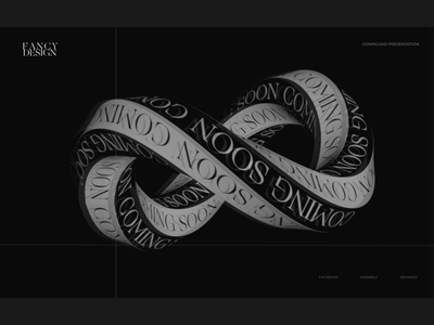 FANCY DESIGN 3d animation logo branding composition design animation web ui