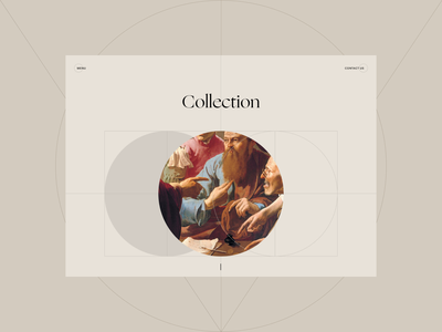 Art Fund. Collection collection fund art webdesign website typography composition design web ui