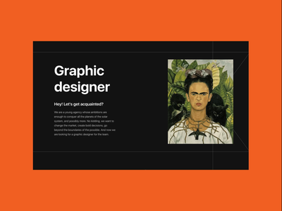 Graphic Designer wanted uiux website typography composition design web corporate website motion graphics graphic design animation ui