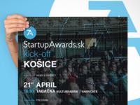 Startup Awards Kick-off poster