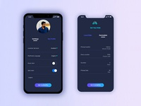 Settings - Daily UI Challenge #007