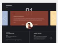 Testimonial UI | Slider