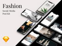 Fashion Social Media Post Kit
