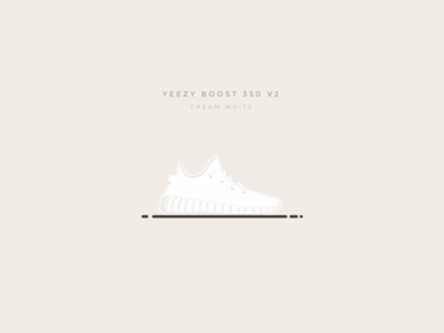 Yeezy Boost 350 V2 Cream White cream white illustration yeezy