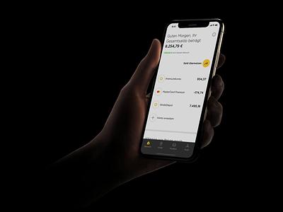 Commerzbank Banking App – Darkmode? ui design ios13 darkmode berlin commerzbank fintech finance banking
