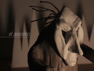 Asesino asesino clay photography animation stop motion quirino