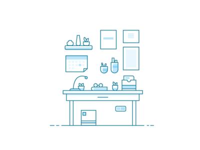Workspace Illustration 4/5