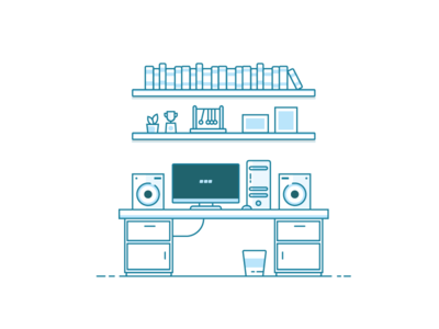 Workspace Illustration 5/5