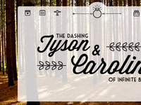 developing our wedding website!