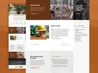 Home Page Variation for Arizona Conservation Corps