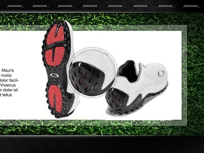 Product Feature shoes landing page website products loupe magnify