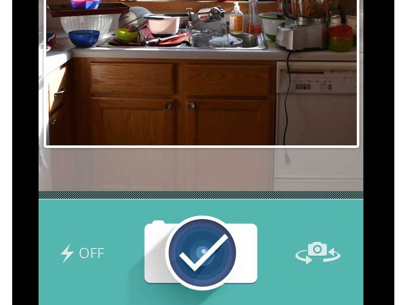 New App + Take a pic iphone ios app mobile ui ux san diego