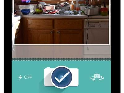 New App + Take a pic