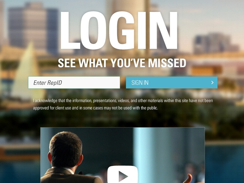 Login Screen web event website google custom