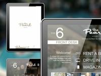 iPad Hospitality App