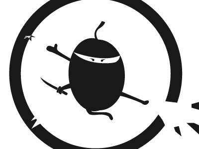 Themed Logo logo branding vector ninja theme