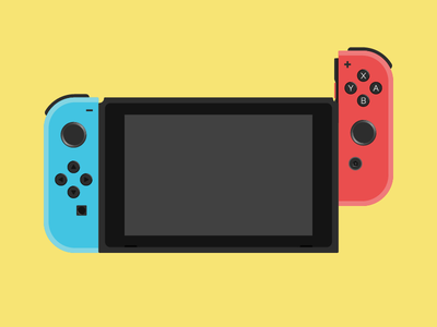 Switch it up colors nintendo illustration switch games
