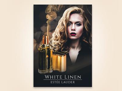 Perfume Advertisement Concept visual design typography advertisement design poster poster design advertisement
