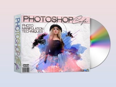 Photoshop Cafe visual effects photo manipulation cover design cd cover design packaging packaging design dvd cover dvd cover design