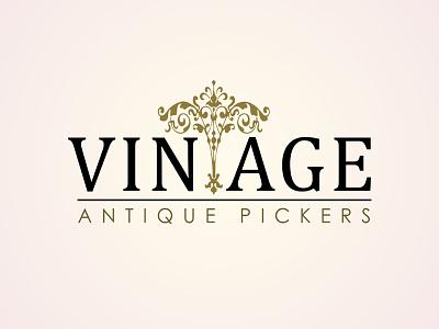 Vintage Logo logo design typography logo