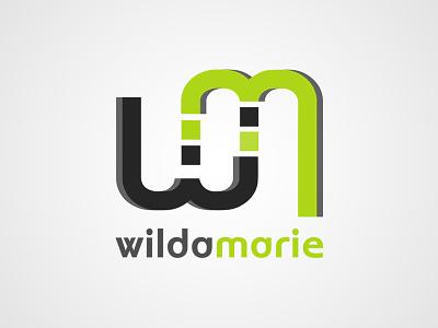 Wilda Marie Logo logo design typography logo