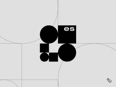 es furniture future minimalism fashion logo modernism furniture logo branding design creative mark logo symbol minimal