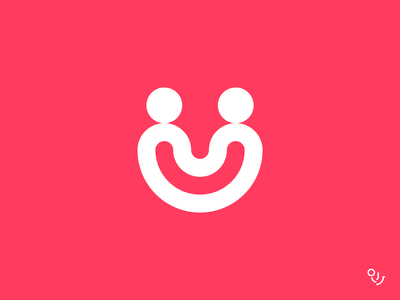 oh my püf logotype identity design shop u brand identity happy face smile logo u logo app type typography branding creative logo mark symbol minimal artist application shopping app