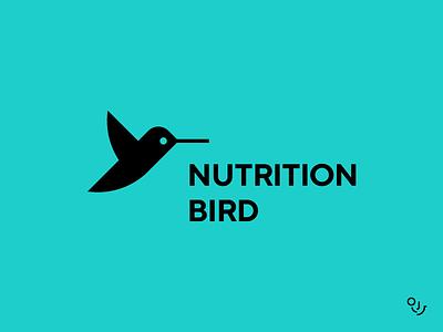 NB healthy eating healthyfood birds bird logo hummingbird logo design logotype logo mark health care fitness healthy branding design brand identity branding design creative mark logo symbol minimal