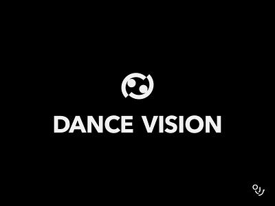 Dance Vision Studio logomarks logo designs human logo people logo logodesign dance studio logo brand identity ballroom ballroom studio logo dancer logo dancers brand design logo symbol branding creative mark minimal
