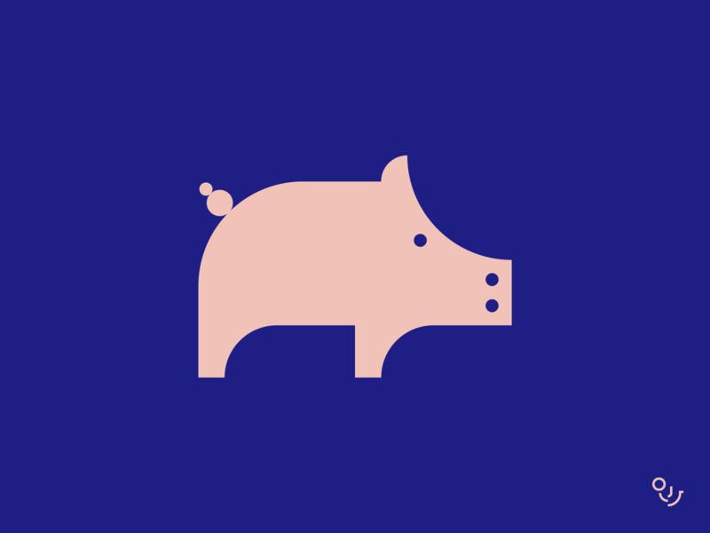 🐽 animal icon minimalist logo mark making logos logo designs pig logo animal mark animal logo icons logo branding design creative mark symbol minimal