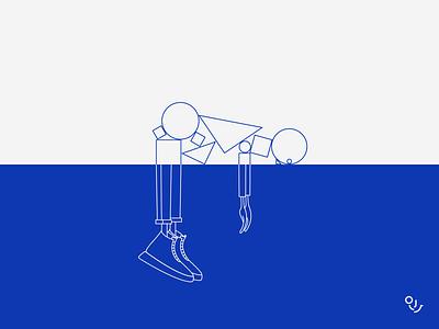 parallel universe shot dribbble drawing vector creative icons type symbol design illustration minimal