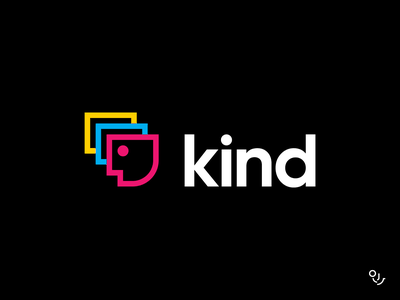 Kinds person kind branding and identity branding design branding mark design creative symbol logo minimal