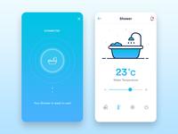 Smart Home App : Shower