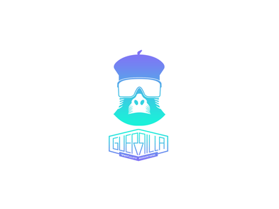 Guerrilla : Immaculate Researchers exploration team ux identity logoinspiration logo logodesign