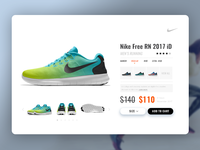 Nike Product : Popup