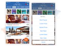 Wandr : Hotel Listings UI