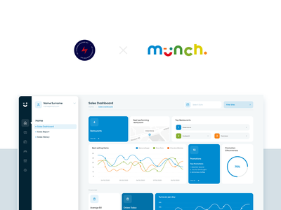 Munch Portal - 1 design ux ui