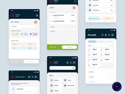 Munch mPoS - 3 app design design ux ui